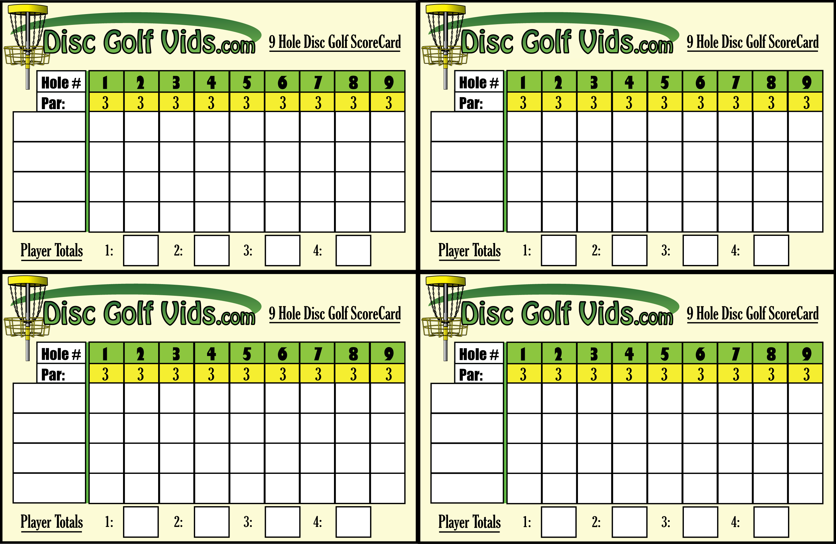 pin golf scorecard template excel on pinterest. Black Bedroom Furniture Sets. Home Design Ideas